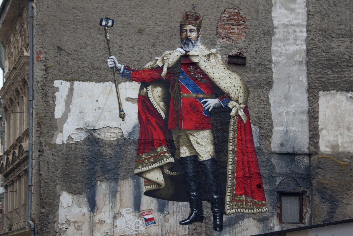 Zdjęcia: Ołomuniec, Południowe Czechy, Królewskie selfie, CZECHY