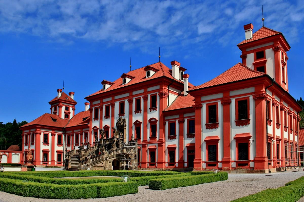 Zdjęcia: Praga, Praga, Pałac Trojski, CZECHY