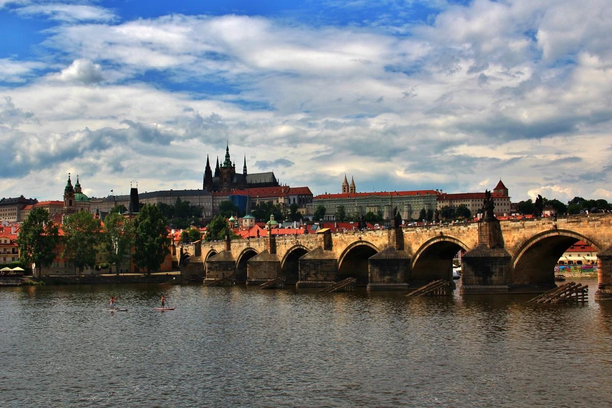 Zdjęcia: Praga, Praga, Most Karola, CZECHY