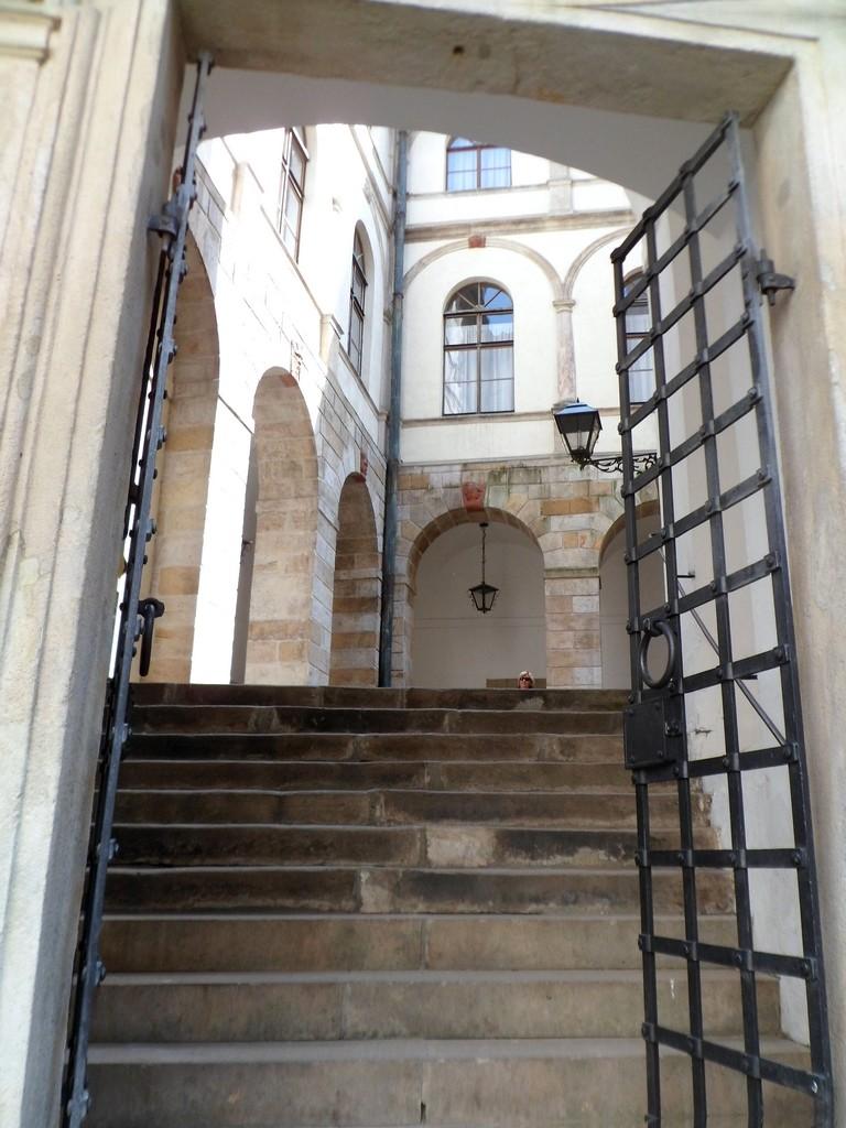 Zdjęcia: Zamek Nachod, Nachod, Wejście na drugi dziedziniec, CZECHY