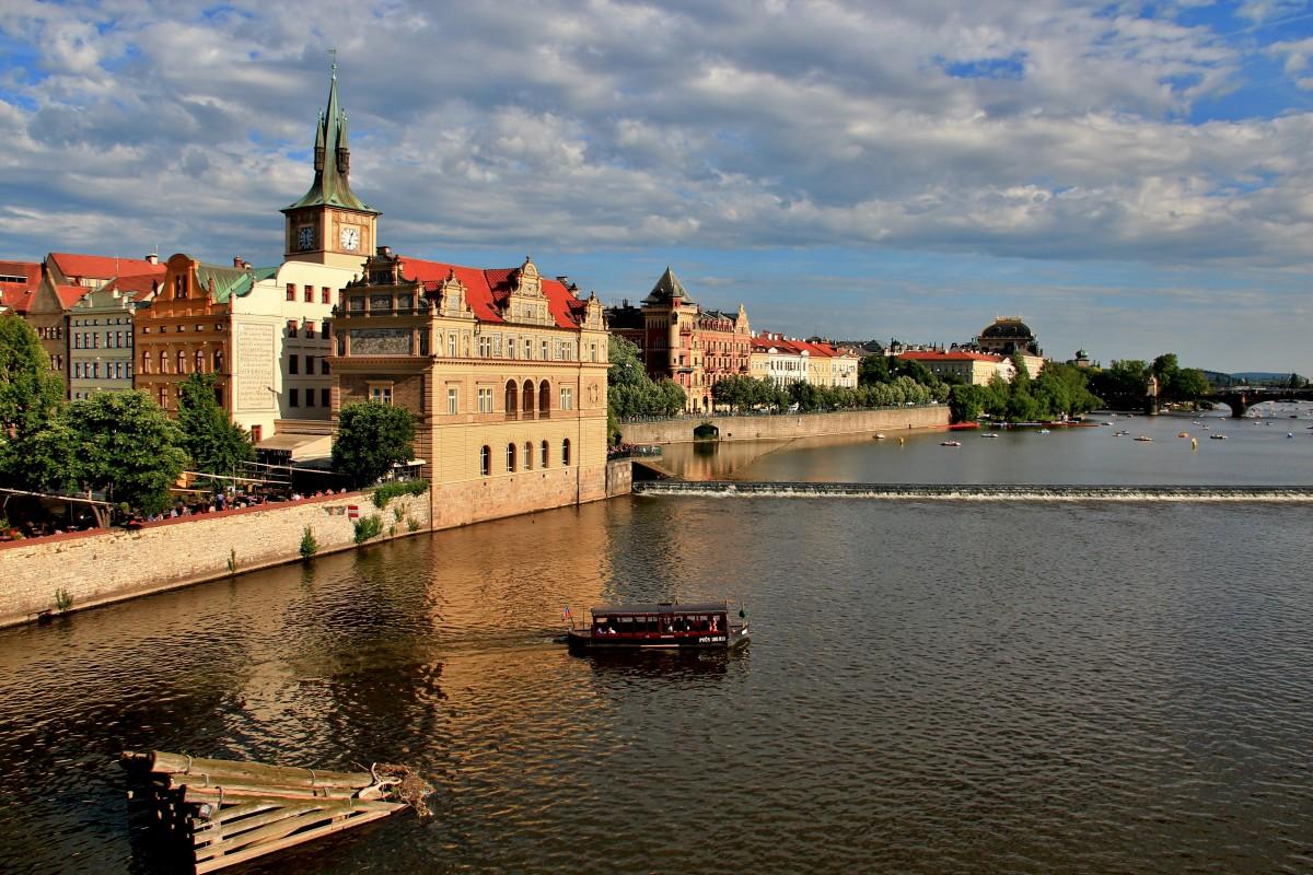 Zdjęcia: Praga, Praga, Nad Wełtawą, CZECHY