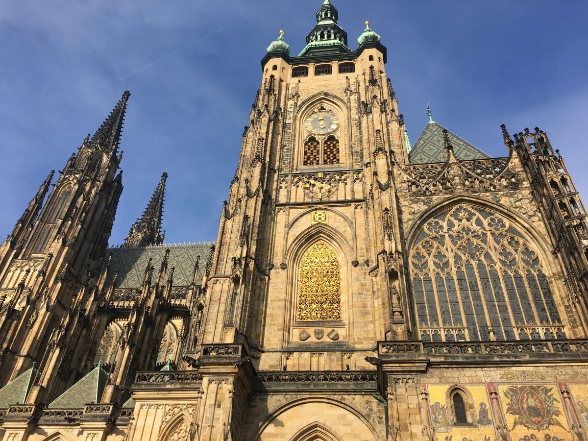 Zdjęcia: Praga, Hradczany, Katedra św. Wita, CZECHY