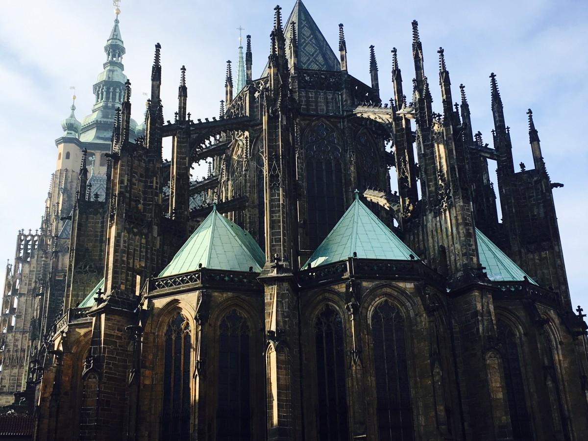 Zdjęcia: Praga, Hradczany, Katedra, CZECHY