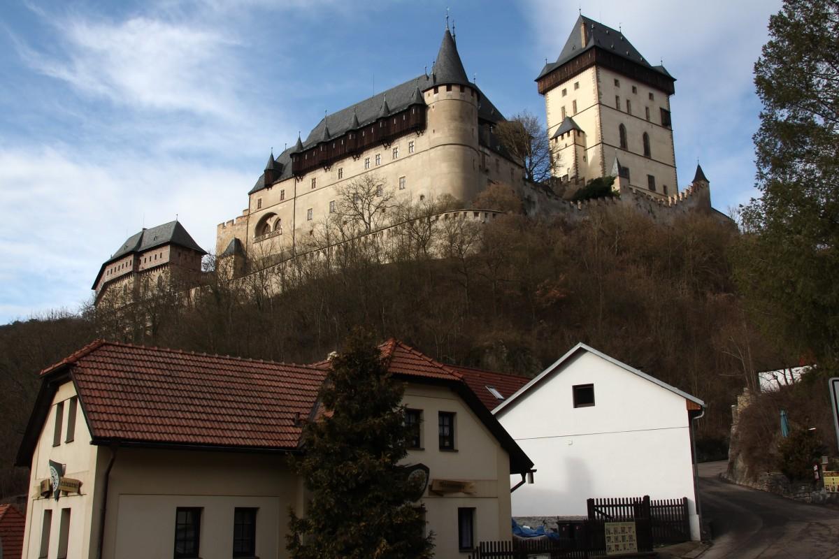 Zdjęcia: Karlstejn, Zachodnie Czechy, Zamek Karlstejn 1, CZECHY