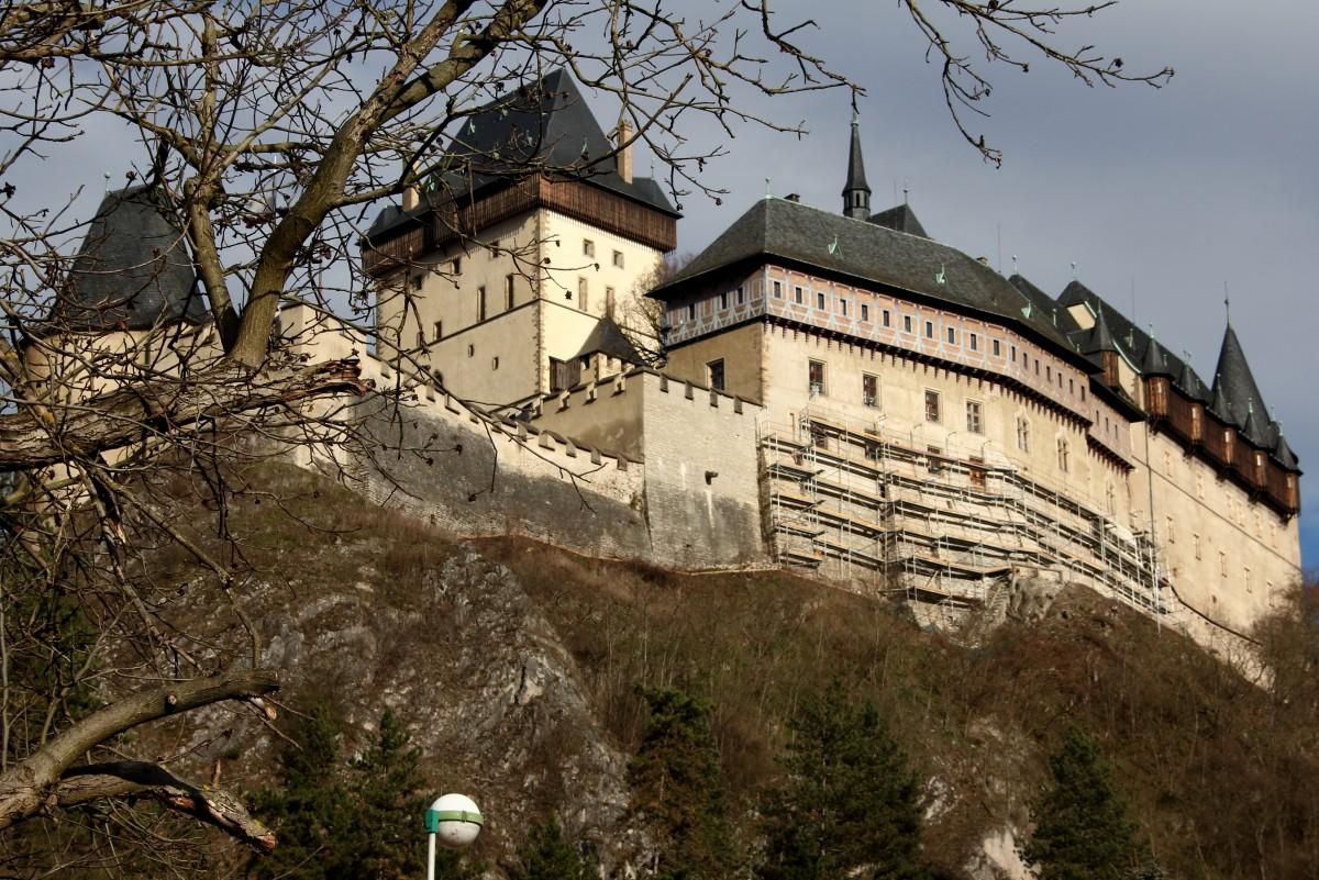 Zdjęcia: Karlstejn, Zachodnie Czechy, Zamek Karlstejn 2, CZECHY