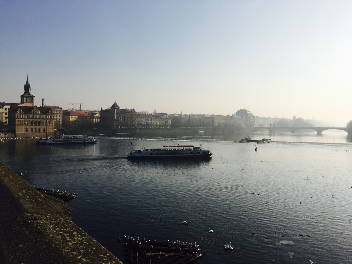 Zdjęcia: Praga, Most Karola, Wełtawa, CZECHY