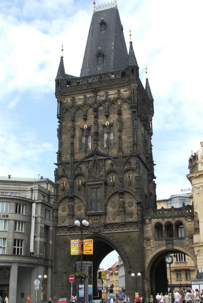 Zdjęcia: Praga, Wieża Prochowa, CZECHY