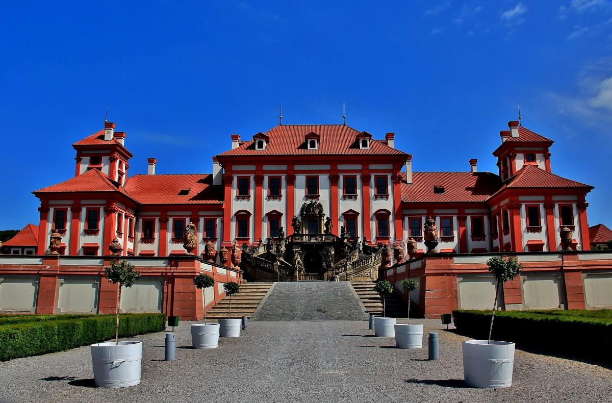 Zdjęcia: Dzielnica Troja, Praga, Pałac Trojski, CZECHY
