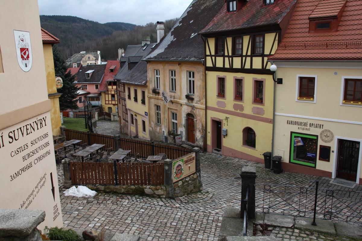 Zdjęcia: Loket, Zachodnie Czechy, Na Starówce, CZECHY