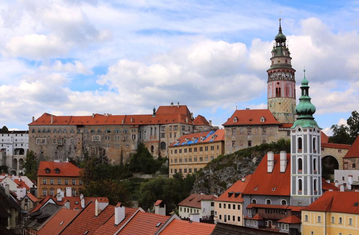 Zdjęcia: Ceski Krumlov,  kraj południowoczeski, Zamek w Ceskim Krumlovie, CZECHY