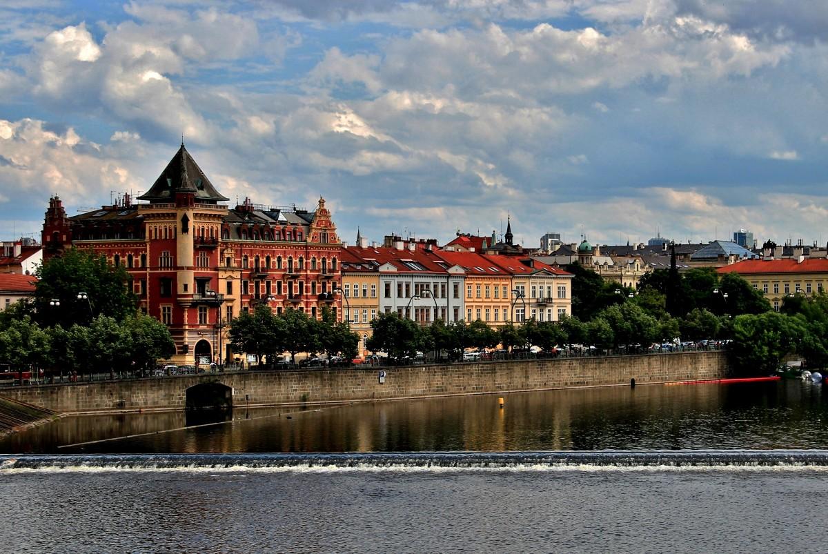Zdjęcia: Praga, Praga, Na prawym brzegu Wełtawy, CZECHY