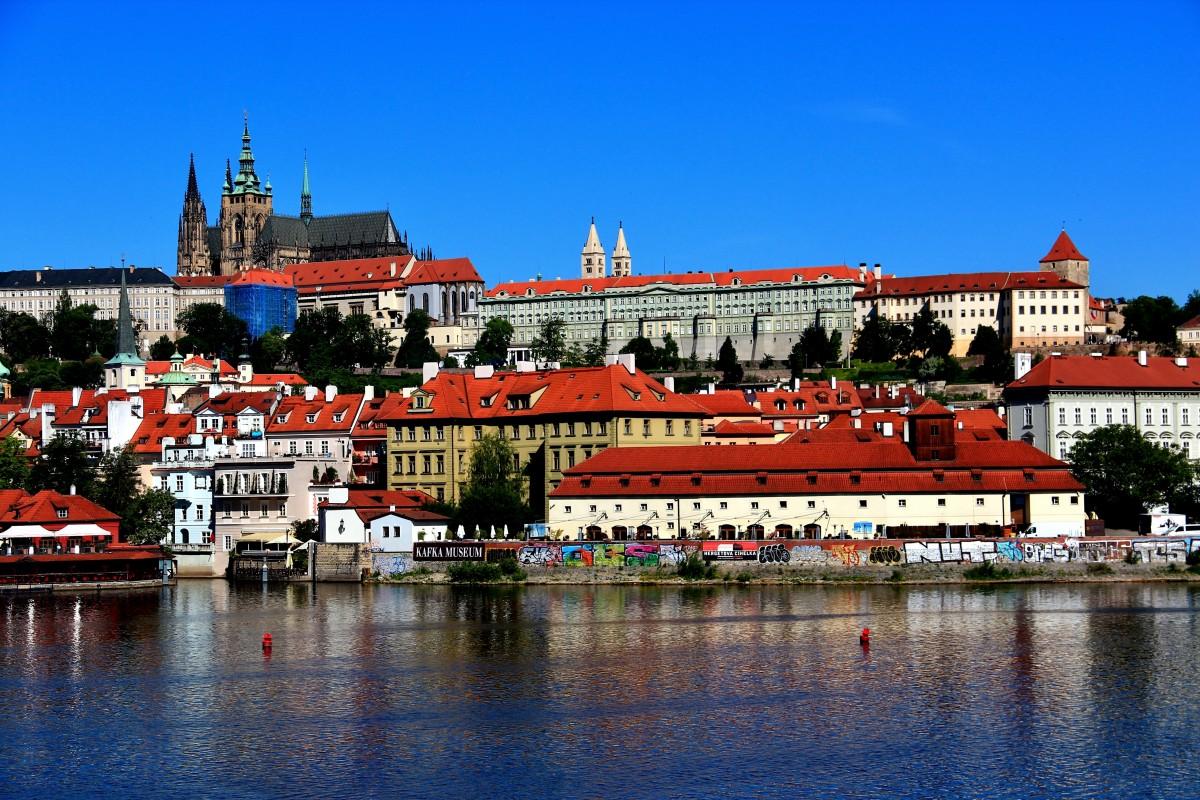 Zdjęcia: Praga, Praga, Katedra Św. Wita, Hradczany, CZECHY