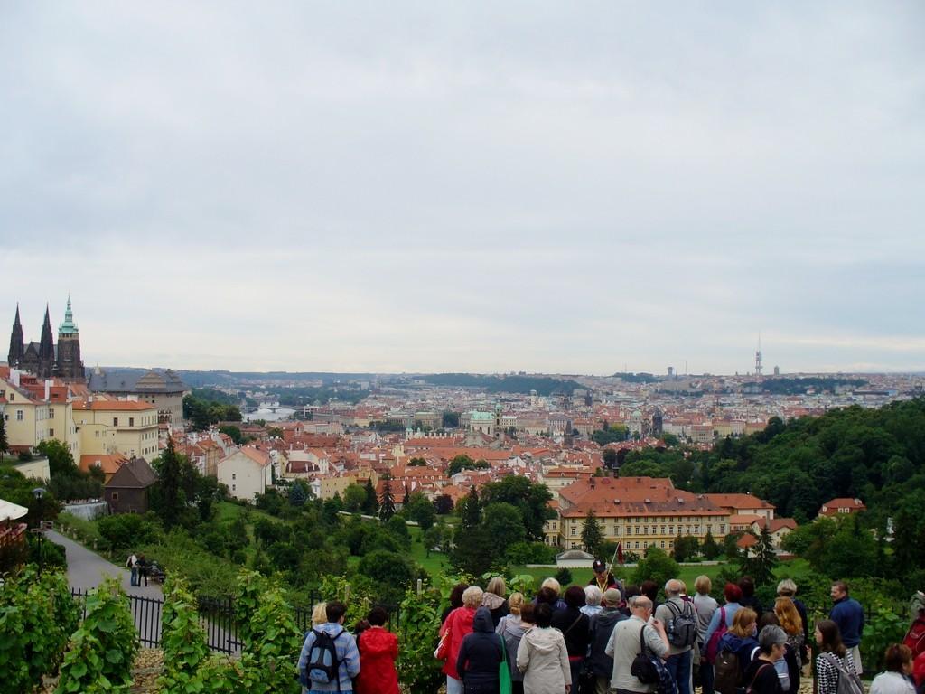 Zdjęcia: Praga, Kraj środkowo czeski, Widok na Pragę z winnic, CZECHY