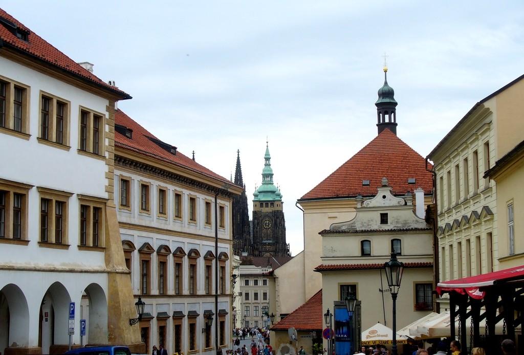 Zdjęcia: Praga, Kraj Środkowo Czeski, Praska uliczka, CZECHY