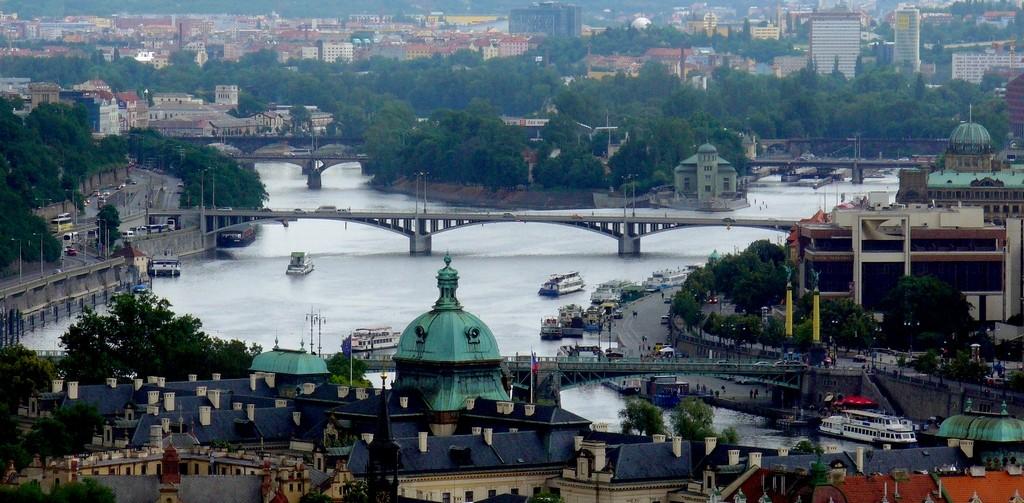 Zdjęcia: Praga, Kraj środkowo czeski, Widok na Wełtawę, CZECHY