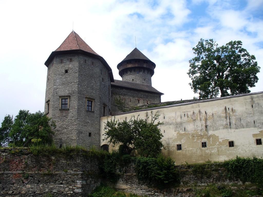 Zdjęcia: Sovinec, Morawy Północne, Zamek od str. południa, CZECHY
