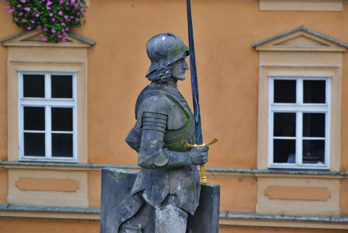 Zdjęcia: Praga - Mala Strana, Kraj środkowoczeski, Strażnik mostu, CZECHY