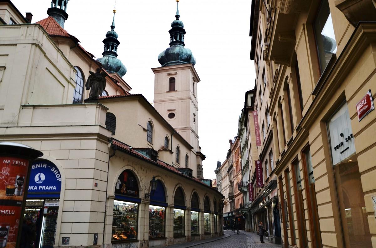 Zdjęcia: Praga - Stare Miasto, Kraj środkowoczeski, Kościół św. Gawła, CZECHY