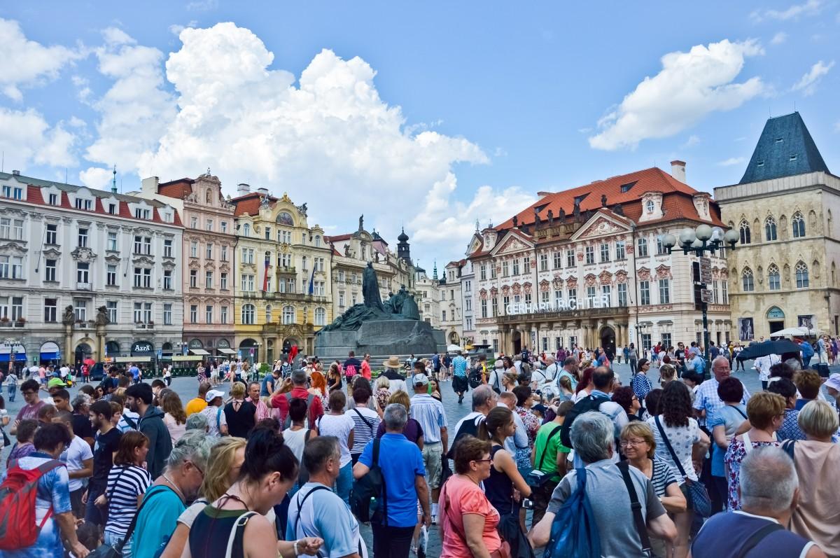 Zdjęcia: Rynek Staromiejski, Praga, Praga, Jaki Tu Spokój , CZECHY