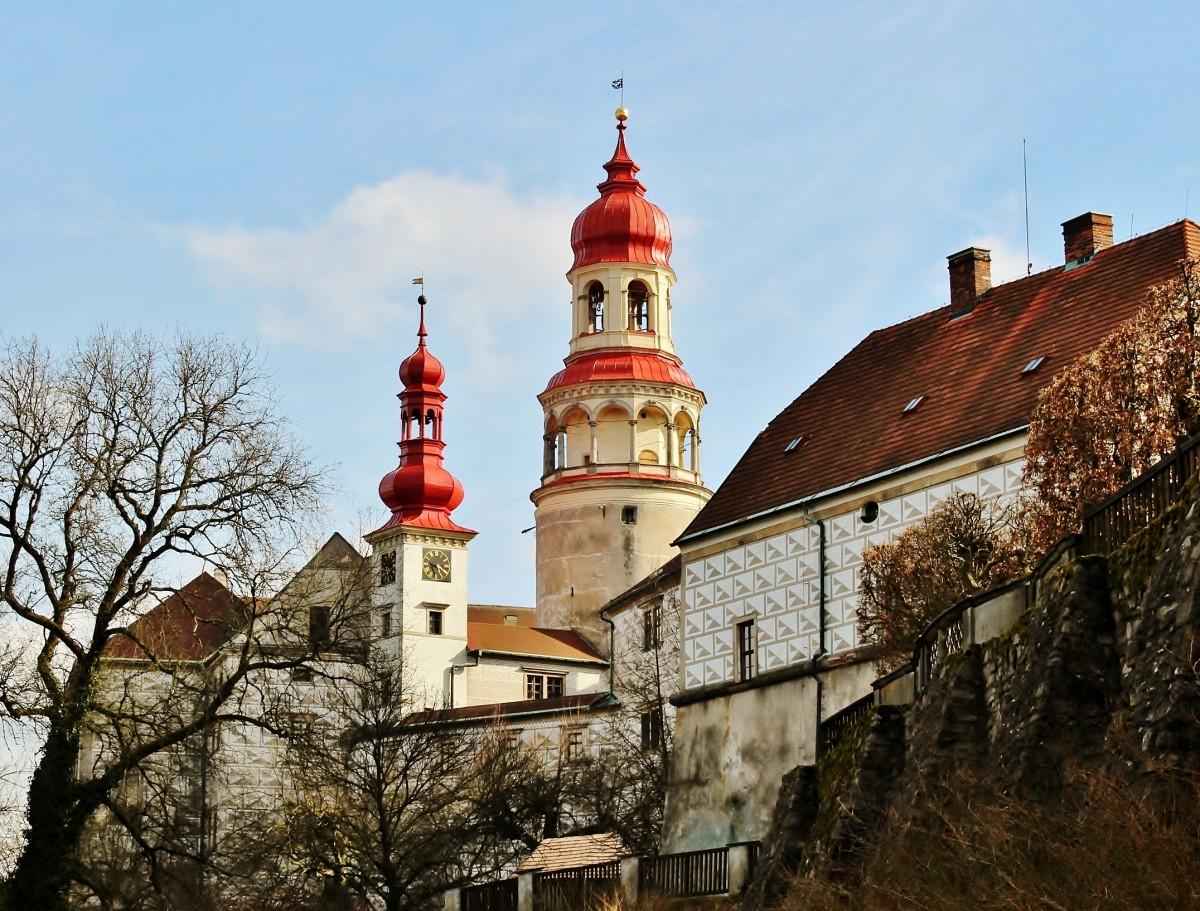 Zdjęcia: Nachod, Kraj Hradecki, Zamek w Nachodzie, CZECHY