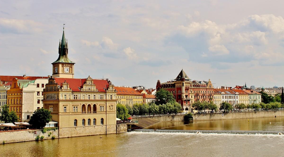 Zdjęcia: Praga, Kraj środkowoczeski, Nad Wełtawą, CZECHY