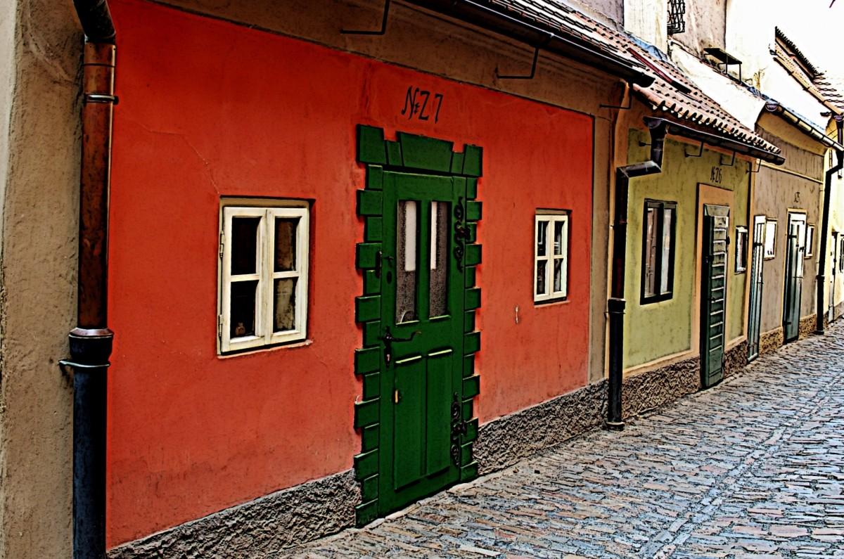 Zdjęcia: Praga, Kraj środkowoczeski, Złota uliczka, CZECHY