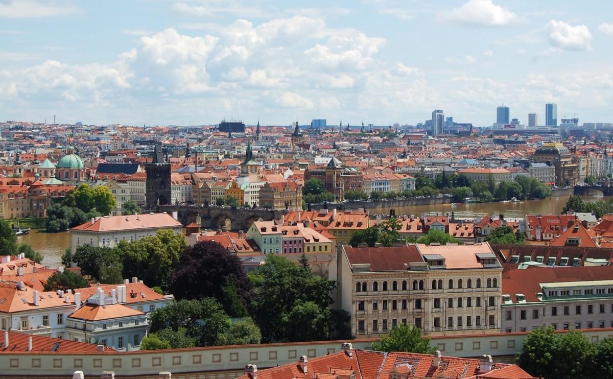 Zdjęcia: Praha, Czechy, Panorama Pragi, CZECHY