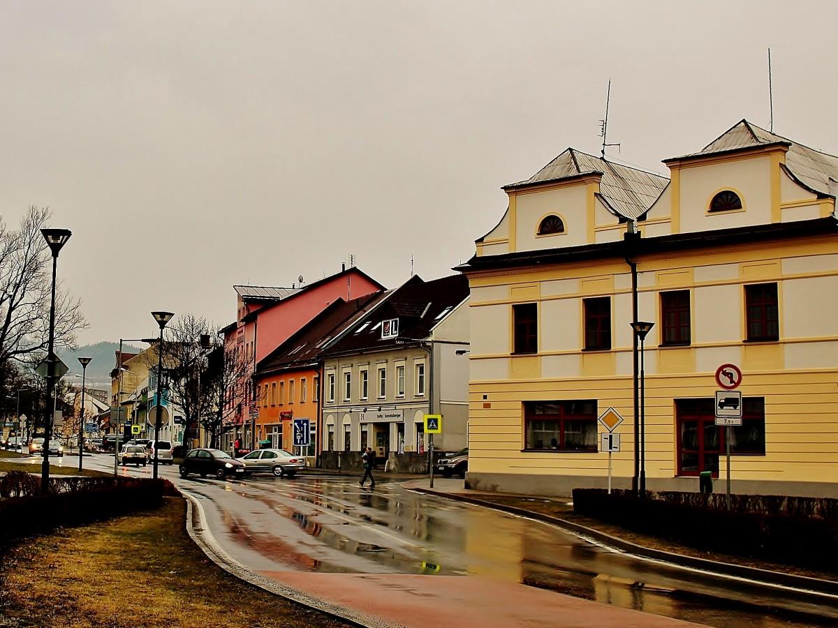Zdjęcia: Jesionik, Kraj ołomuniecki, Uliczka w Jesioniku, CZECHY