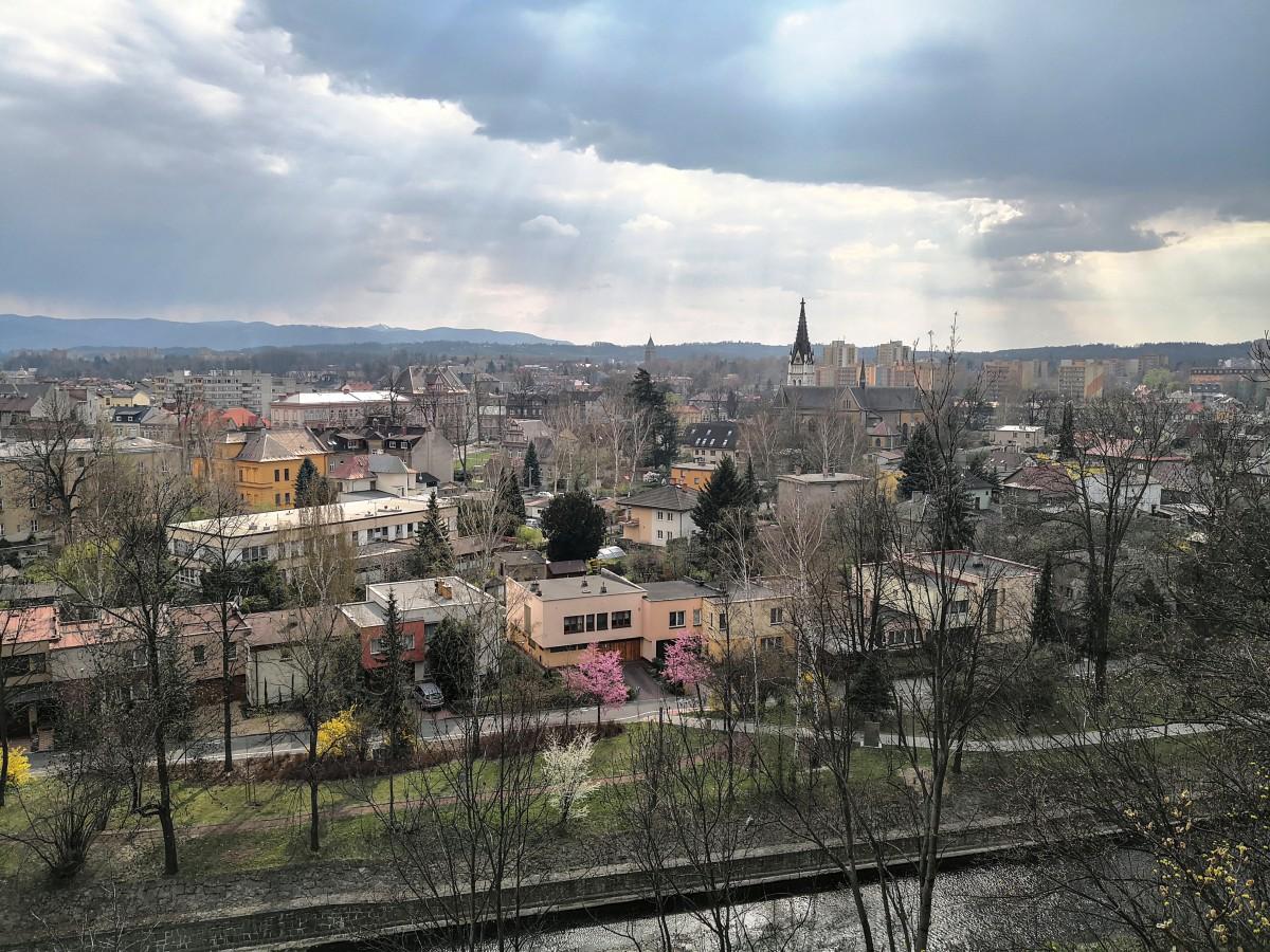 Zdjęcia: Góra zamkowa, kraj morawsko-śląski, Czeski Cieszyn, CZECHY