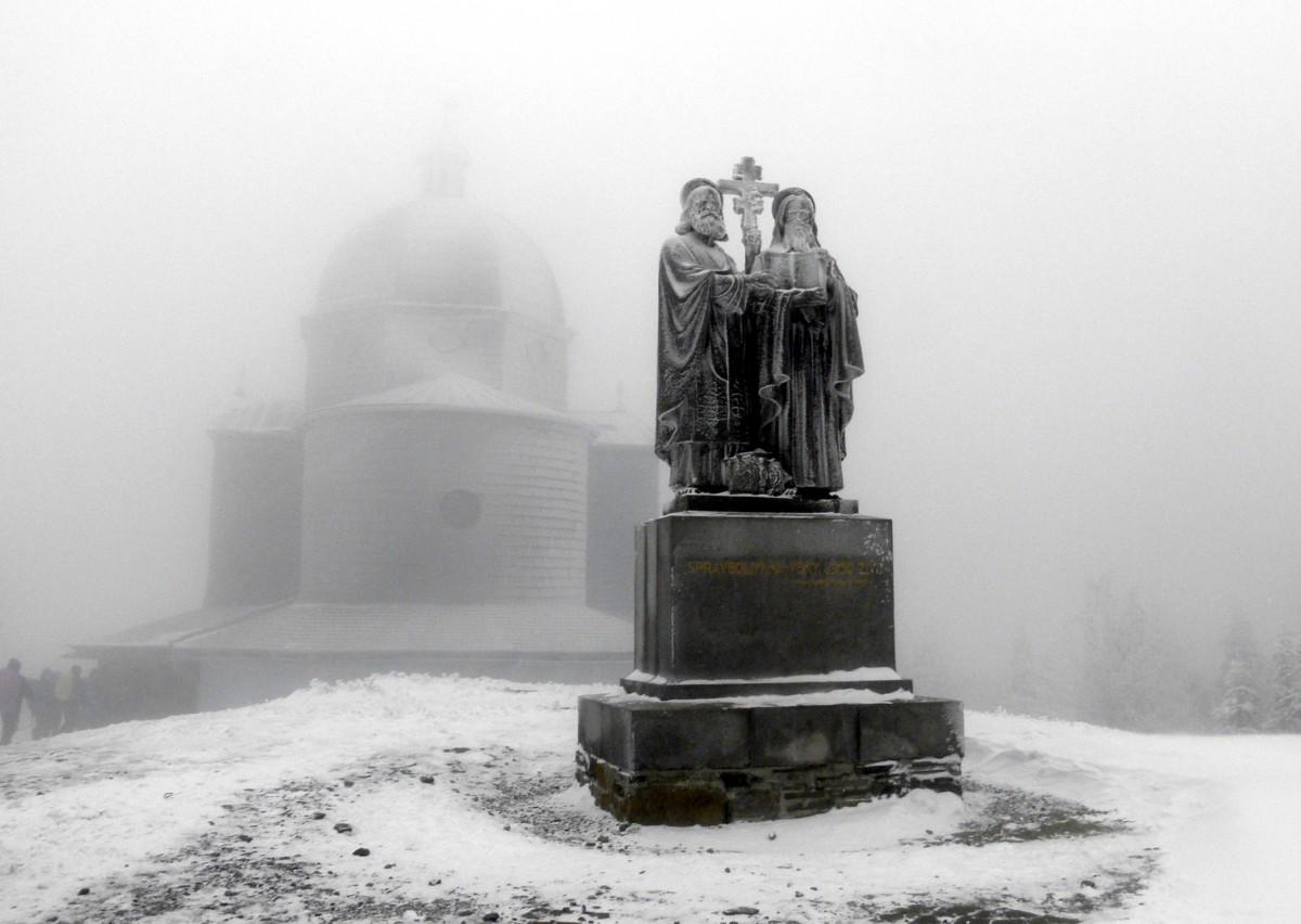 Zdjęcia: Beskid Śląsko-Morawki, Kraj zliński, pamięci Cyryla i Metodego, CZECHY