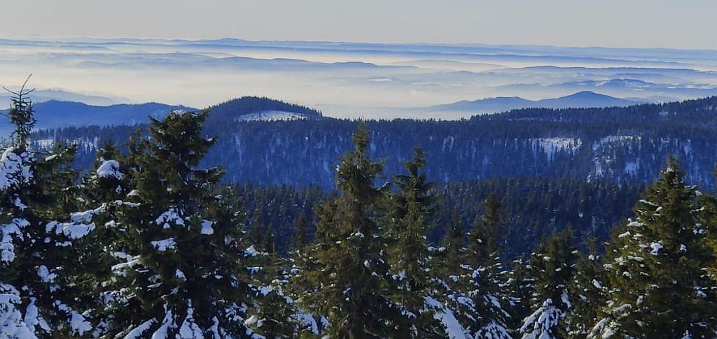Zdjęcia: Mala Moravka, okolice, kraj Morawsko- Śląski, Okoliczne góry i chmury, CZECHY