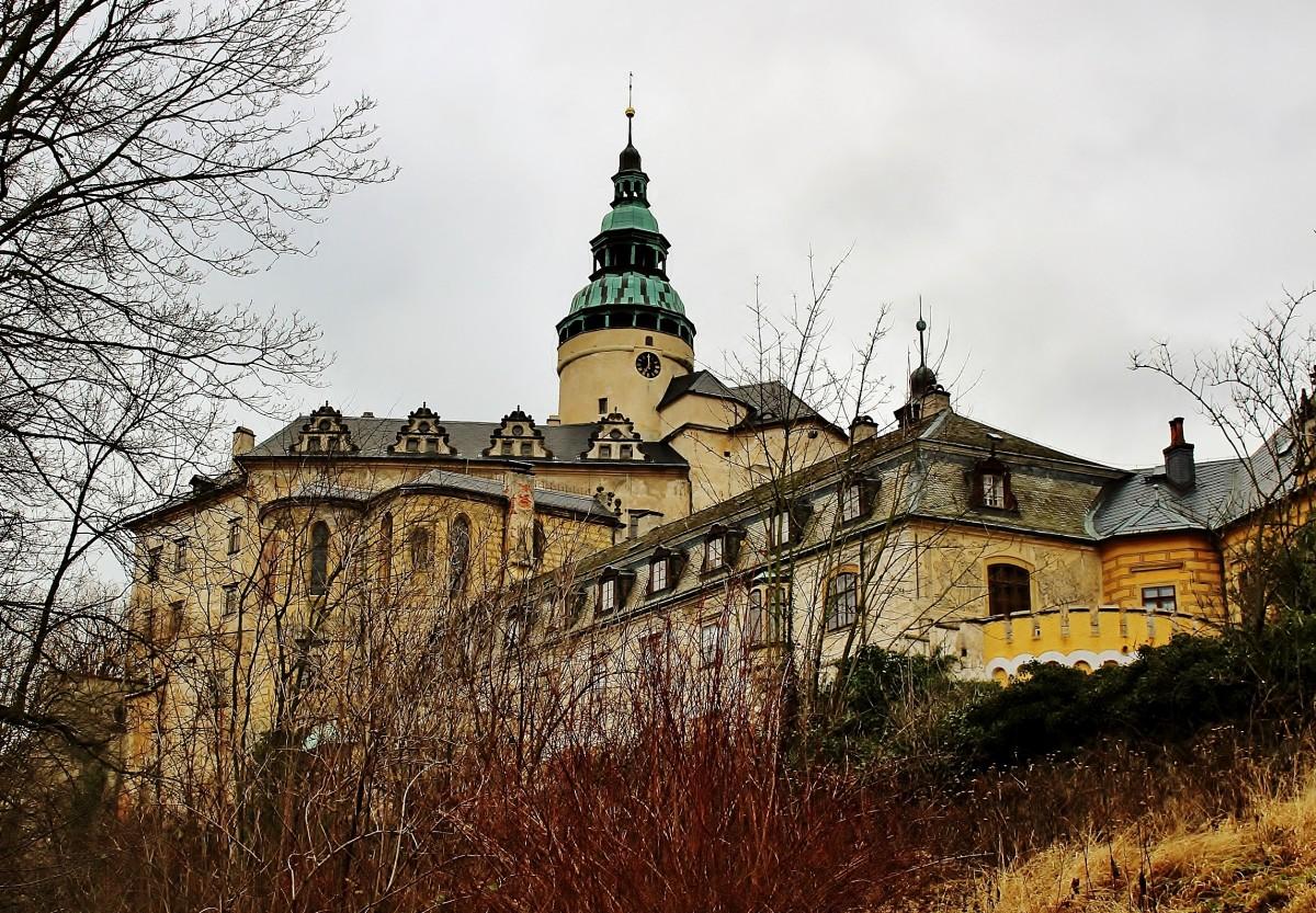 Zdjęcia: Frydlant, Kraj liberecki, Zamek z XIII wieku, CZECHY