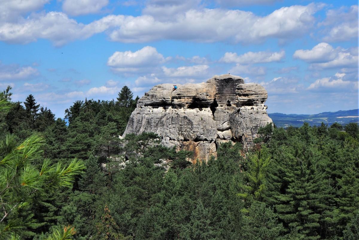 Zdjęcia: Hruboskalsko, Czeski Raj, z góry widać więcej..., CZECHY