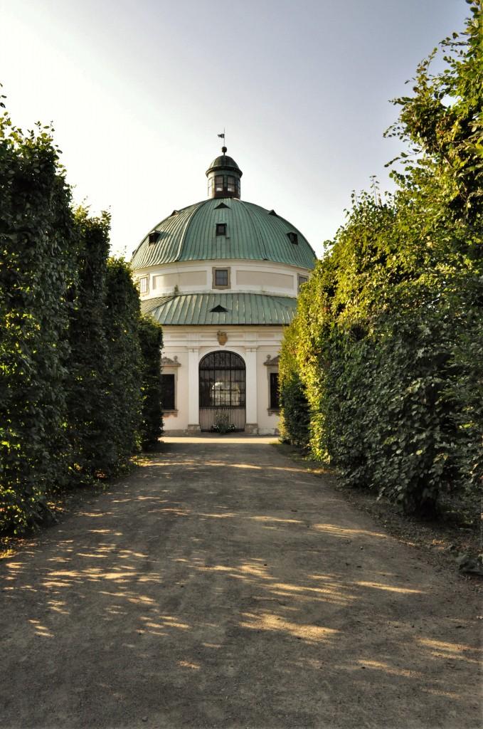 Zdjęcia: Kromwriż, Morawy, Kromeriż, ogród kwiatowy, CZECHY