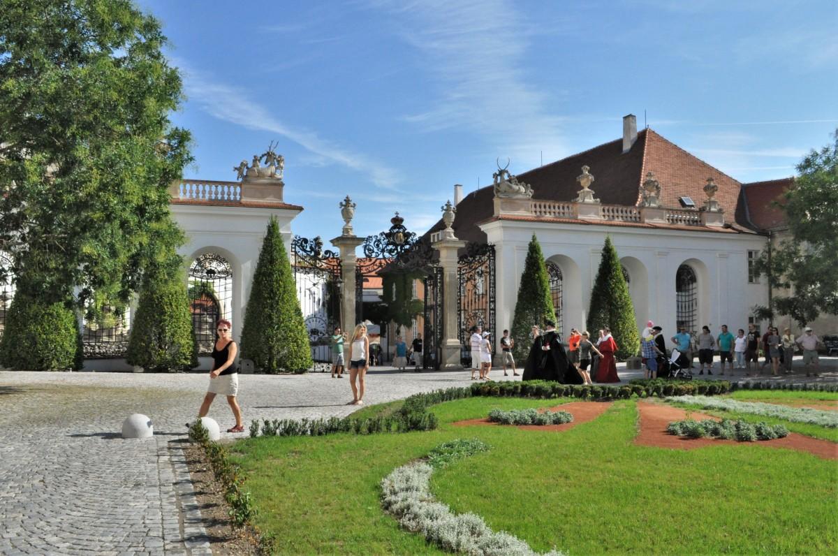 Zdjęcia: Mikulov, Morawy, Mikulov, zamek, CZECHY