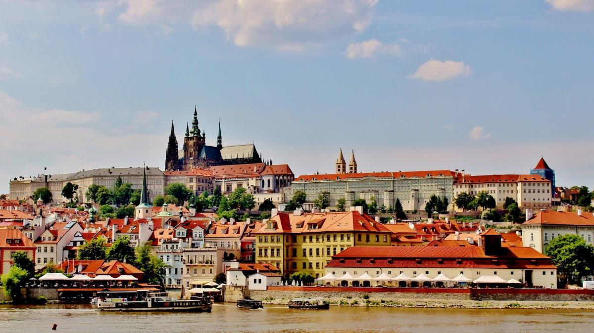 Zdjęcia: Praga, Kraj środkowoczeski, Widok na Hradczany, CZECHY