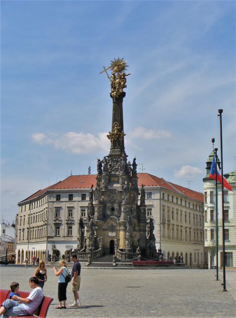 Zdjęcia: Olomouc, Północ, Olomouc, kolumna morowa, CZECHY