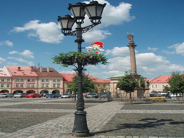 Zdjęcia: Jiczyn, Kraj Hradecki, Rynek w Jiczynie, CZECHY