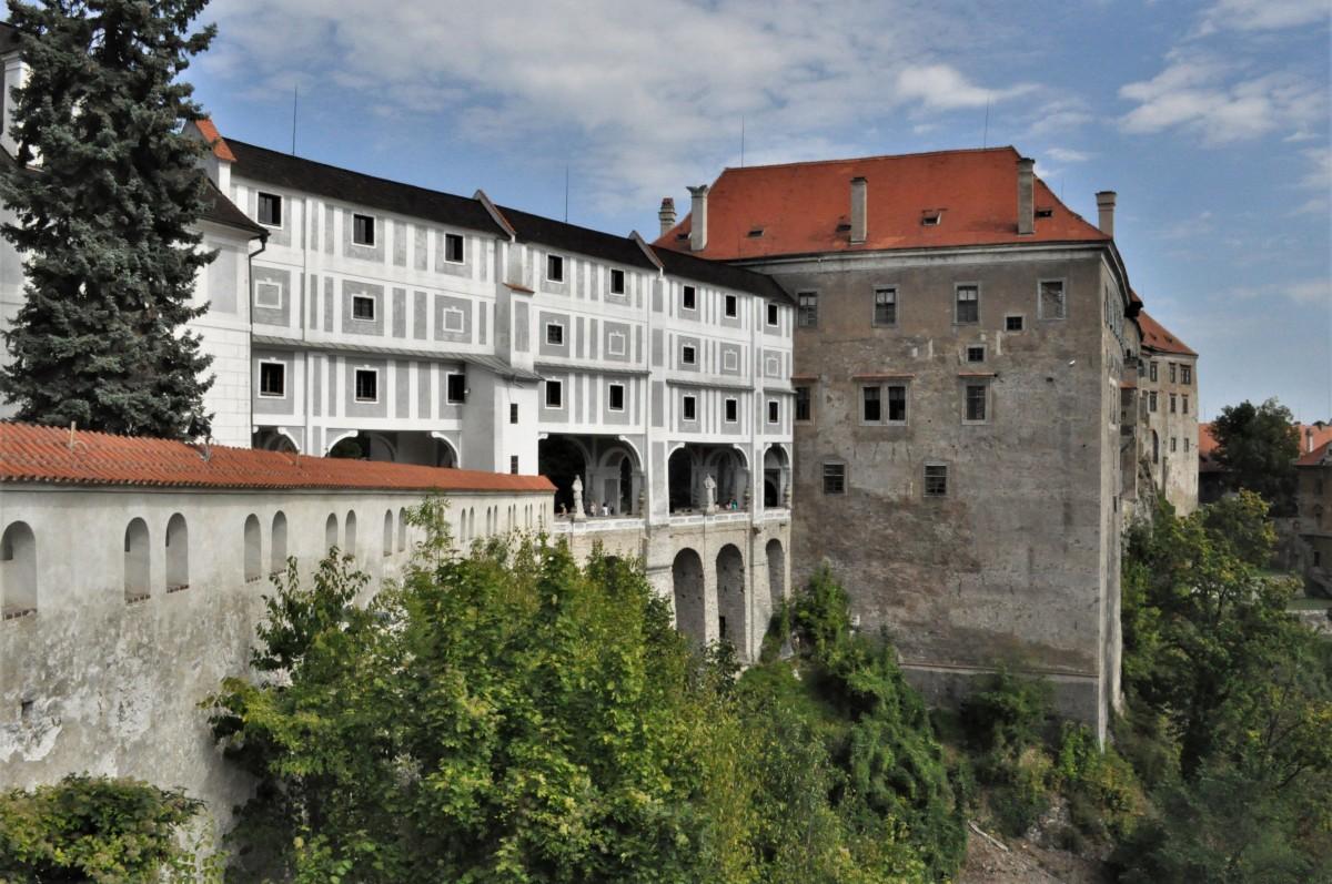 Zdjęcia: Krumlov, Południe, Krumlov, zamek, CZECHY