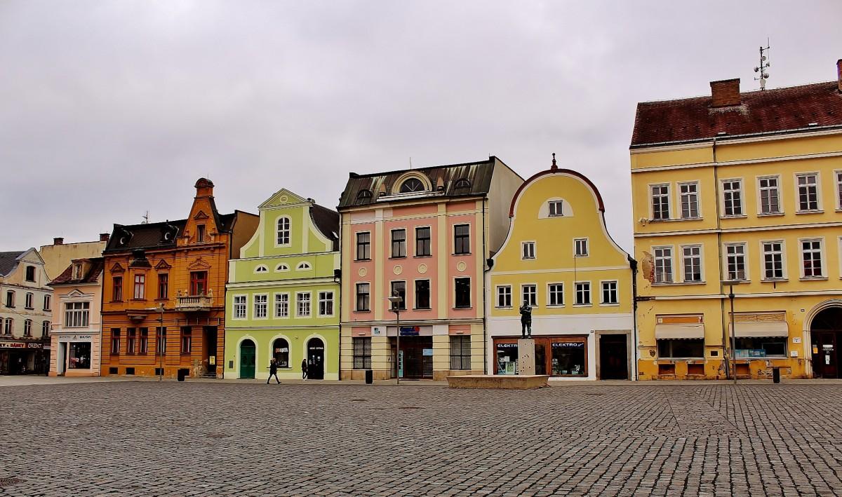 Zdjęcia: Frydlant, Kraj liberecki, Rynek, CZECHY