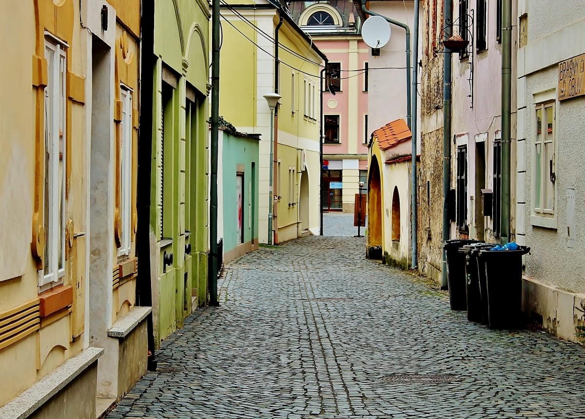 Zdjęcia: Frydlant, Kraj liberecki, Uliczka, CZECHY