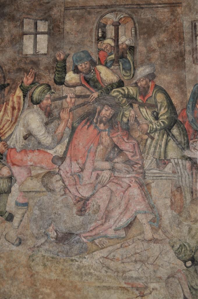 Zdjęcia: Brno, Morawy, Brno, klasztor franciszkański, średniowieczne freski, CZECHY