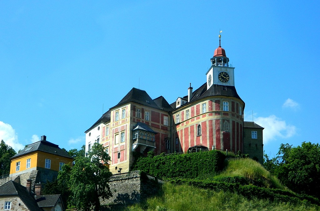 Zdjęcia: Javornik, przy granicy, Zamek w Javorniku, CZECHY