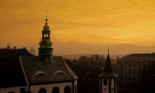 Zdjęcie CZECHY / Liberecki Kraj / Liberec / Dwie wieże