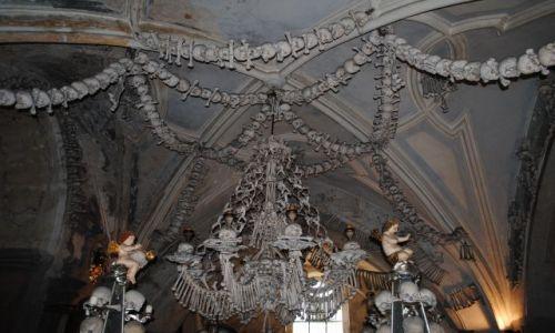 Zdjęcie CZECHY / Kutna Hora / Kutna Hora / Kaplica czaszek