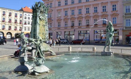 Zdjęcie CZECHY / Morawy / Ołomuniec / Fontanna