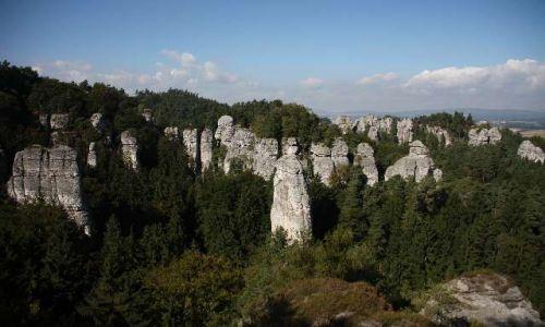 Zdjecie CZECHY / czeski raj / czeski raj / panorama