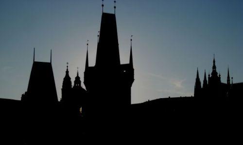 Zdjecie CZECHY / Praga / Praga / Na moście Karola
