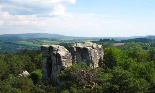 Zdjecie CZECHY / - / Czeski Raj / panorama Czeskiego Raju