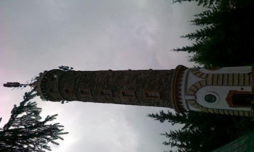 CZECHY / Góry Opawskie / Zlaty Chlum/Złoty Hełm/ / Wieża widokowa na Zlatym Chlumie